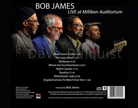 Bob James CD (early design proof)